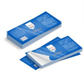 Etichette cm.5,2x14,8 adesiva patinata