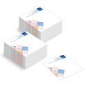 Cubi 500 fogli bianchi - quadricromia