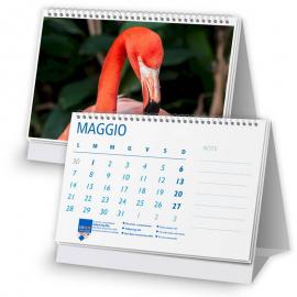 Calendario 14,8x10,5 - fogli 12+1 - f/retro