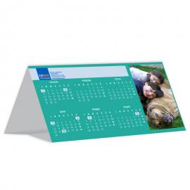 Calendario da tavolo bifacciale 21x10