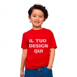 T-shirt junior girocollo Sol's Imperial
