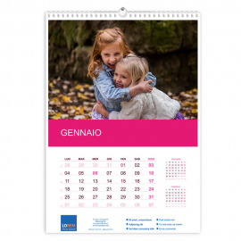 Calendario A3  fogli 12+1