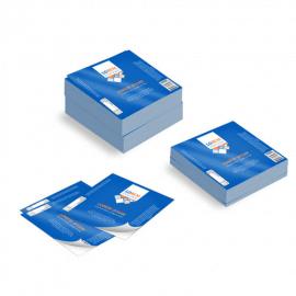 Etichette cm.5x5 adesiva patinata
