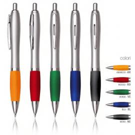 Penna in plastica/metallo B11047/SIL