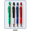 Penna in plastica QUEEN