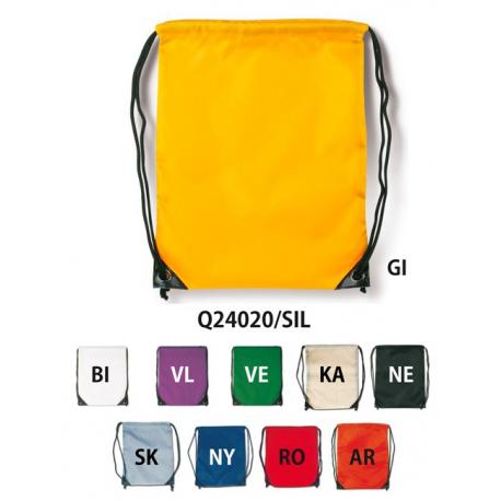 Sacca in nylon con lacci cm.34x43