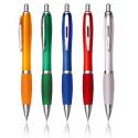 Penna a scatto in plastica/metallo