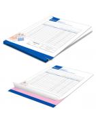 Stampa fascicoli copiativi. Tipografia online stampastampe.it stampare fascicoli carta chimica